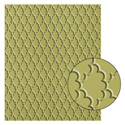 Fancy Fan Embossing Folder