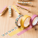 Gingham Garden Washi Tape